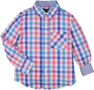Andy & Evan Check Woven Shirt