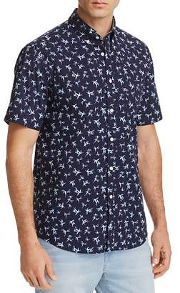 Tommy Hilfiger Bamboo Leaf Print Regular Fit Button-Down Shirt