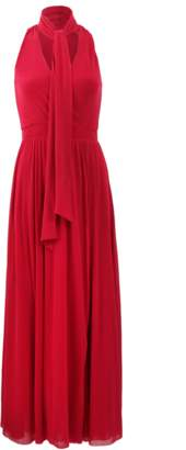 Fuzzi Maxi Dress With Tie