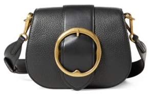 Ralph Lauren Pebbled Leather Lennox Bag Black One Size