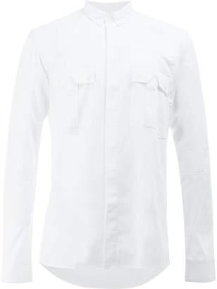 Balmain classic chest pocket shirt