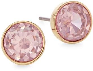 Kate Spade Reflecting Pool Goldtone Crystal Stud Earrings