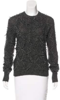 3.1 Phillip Lim Frayed Crew Neck Sweater