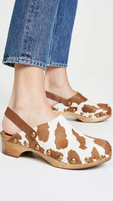 Tory Burch Blythe 50mm Studded Clogs
