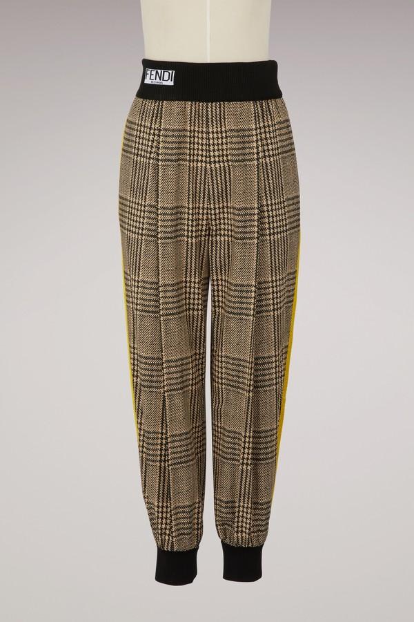 Fendi Jogging-style trousers