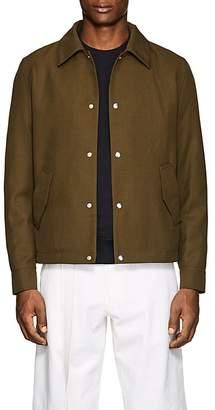 Ami Alexandre Mattiussi Men's Twill Coach's Jacket
