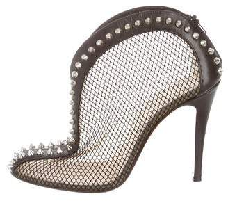 Christian Louboutin Bourriche Studded Booties