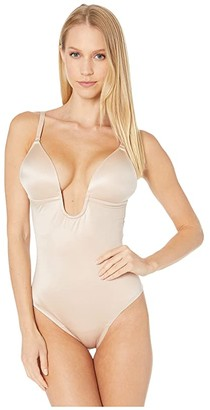 Spanx Suit Your Fancy Plunge Low-Back Thong Bodysuit