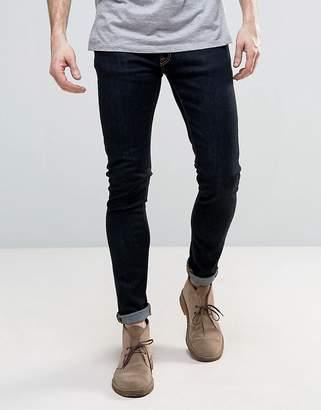 Nudie Jeans Skinny Lin Super Skinny Jeans Dry Deep Orange