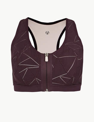Marks and Spencer Extra High Impact Non-Padded Sports Bra A-F