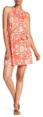 Lucky Brand Halter Style Print Dress