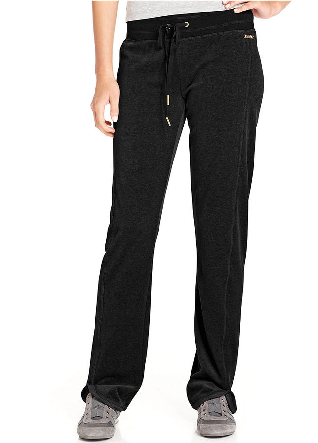 Calvin Klein Pants, Straight-Leg Velour