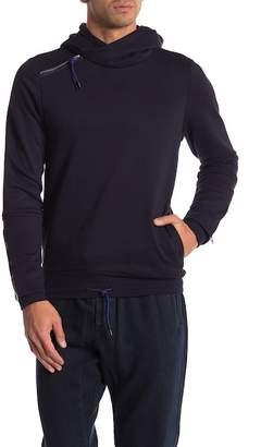 Scotch & Soda Side Panel Hooded Sweatshirt