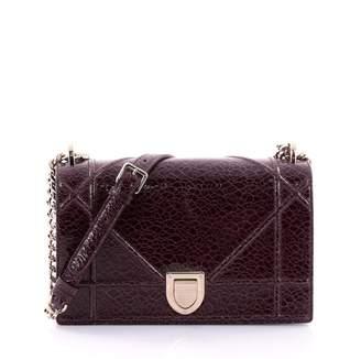 Christian Dior Red Leather Handbag