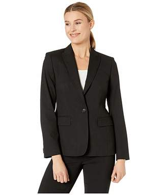 Jones New York Washable Suiting One Button Jacket
