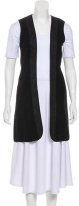 Burberry Elongated Wool Vest
