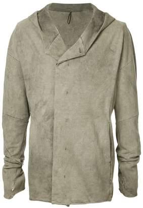 Masnada faded hooded jacket