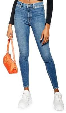Topshop Pocket Det Jamie Skinny Jeans 32-Inch Leg