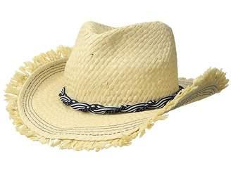 Roxy Beach Wearing Fedora Hat