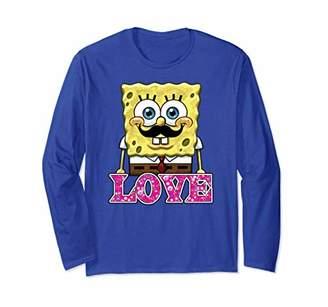 Nickelodeon Spongebob Squarepants floral love Long Sleeve T-shirt