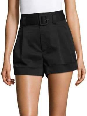 Marc Jacobs Pleated Hi-Waist Shorts