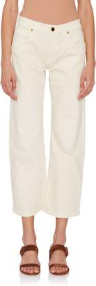 Khaite Wendall Crop Wide Leg Jean