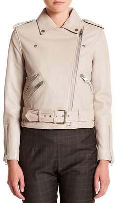 Walter W118 by Baker Allison Sheep Leather Moto Jacket