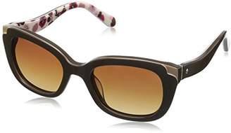 Kate Spade Women's Danellaps Polarized Rectangular Sunglasses