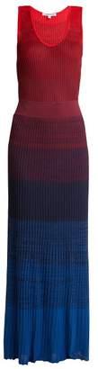 Elizabeth And James - Winona Ribbed Knit Maxi Dress - Womens - Multi