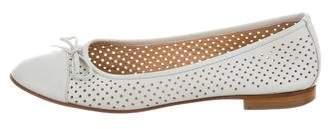 Carlo Pazolini Perforated Cap-Toe Flats
