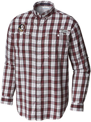 Columbia Men's Florida State Seminoles Super Tamiami Long Sleeve Shirt