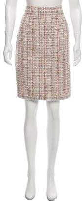 Chanel Tweed Knee-Length Skirt