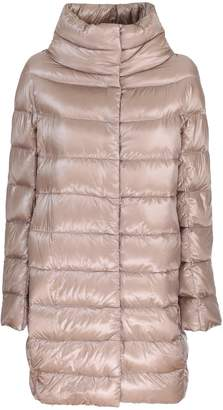 Herno long quilted jacket