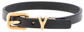 Saint LaurentYves Saint Laurent Buckle Bracelet