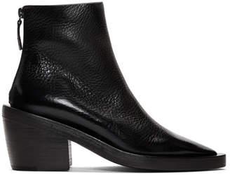 Marsèll Black Coneros Tronchetto Zip Boots