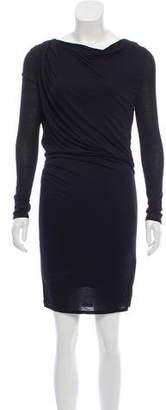 Helmut Lang HELMUT Draped Mini Dress