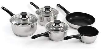 Berghoff Vision 18/10 SS 8-Piece Cookware Set with Glass Lids