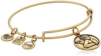 Alex and Ani Women's Charity by Design - Cherub Expandable Charm Bangle Bracelet Bangle Bracelet