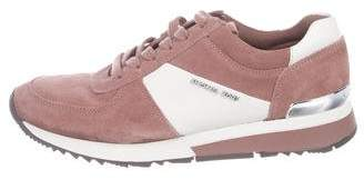 Michael Kors Suede Low-Top Sneakers