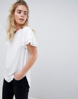 New Look Flutter Sleeve T-Shirt