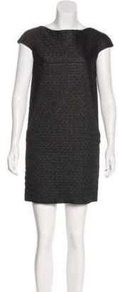 Dolce & Gabbana Cap Sleeve Mini Dress
