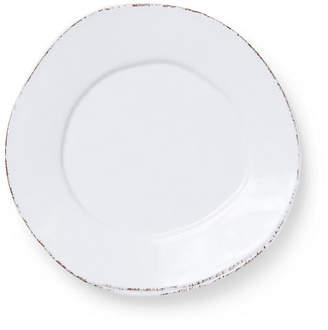 Vietri Lastra Melamine Salad Plate - White