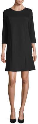 Liz Claiborne Studio 3/4 Sleeve Sheath Dress