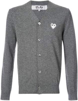 Comme des Garcons cardigan with white heart