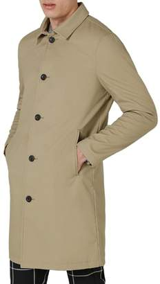 Topman Mac Single Breasted Topcoat