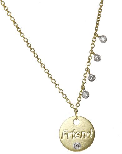 Meira T Diamond Studded Necklace