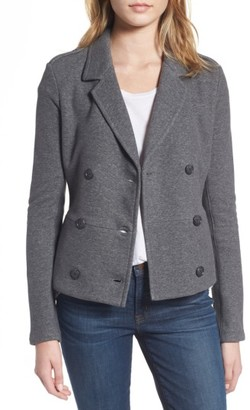 Women's James Perse Double Breasted Blazer $365 thestylecure.com