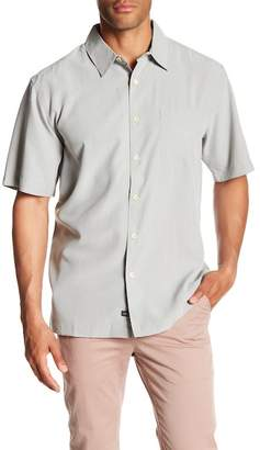 Quiksilver Waterman Collection Cane Island Short Sleeve Comfort Fit Shirt
