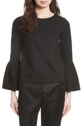 Women's Ted Baker London Lolare Bell Sleeve Top $175 thestylecure.com