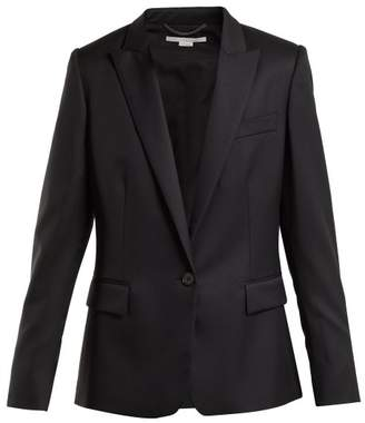 Stella McCartney Ingrid Tailored Wool Jacket - Womens - Black